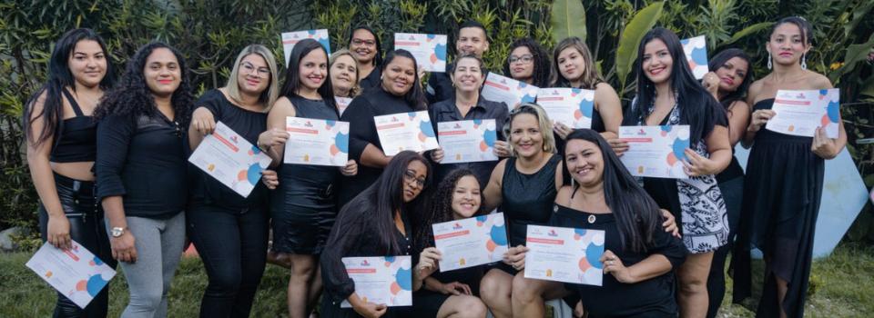 ONG Moradia e Cidadania já certificou mais de 125 pessoas em cursos de capacitação em 2019